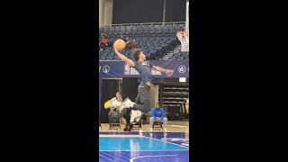 Josh Christopher Pro Day at the NBA Combine
