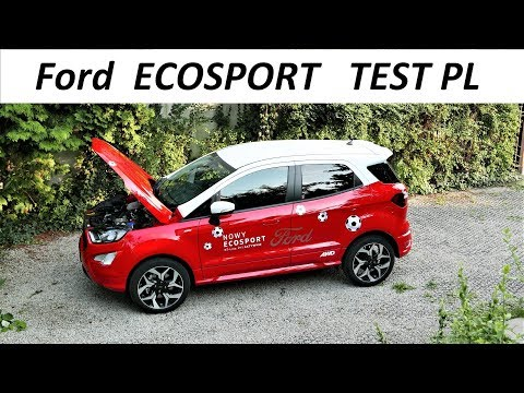 2018 Ford ECOSPORT - MEGA TEST PL