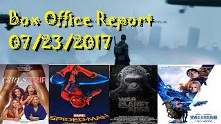 Valerian City of a Thousand Bombs Box Office Report 07/23/2017
