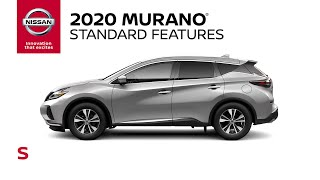 homepage tile video photo for 2020 Nissan Murano S Walkaround & Review
