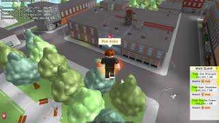 How to Rapid Jump in Super Power Simulator [Roblox] 80+ Jump force!