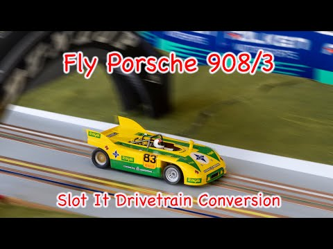 Fly Porsche 908 conversion with Slot It parts