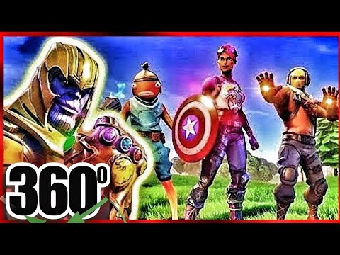 FORTNITE vs THANOS from Marvel Avengers