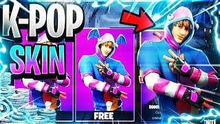 How To Get New K-POP Skin For *FREE* In Fortnite!
