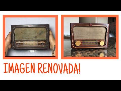 Restaurando Radio Antigua/Restoring Old Radio