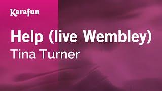 Karaoke Help (live Wembley) - Tina Turner *