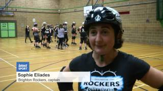 Brighton rockers enjoy the physicality of roller derby