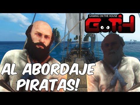AL ABORDAJE... LOS PRATT PIRATAS! Black Wake en Español - GOTH