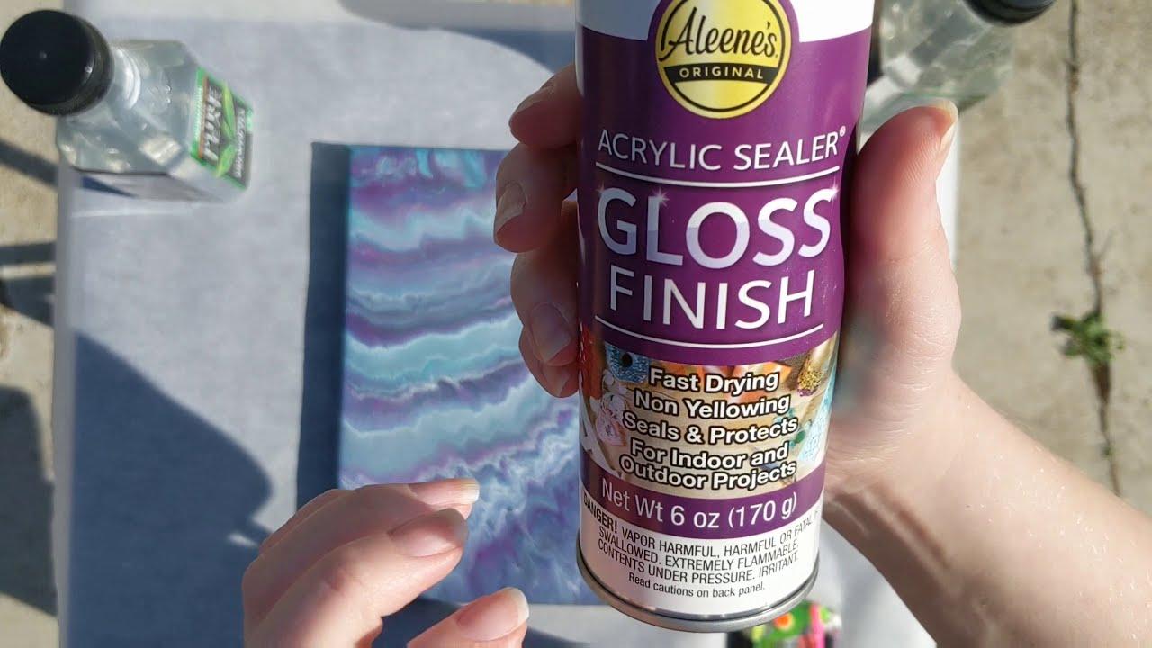 Spray Gloss Finish