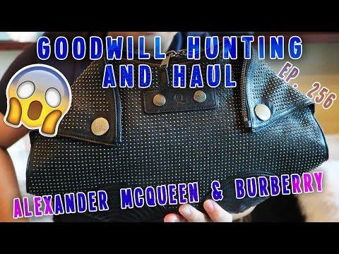 ALEXANDER MCQUEEN & BURBERRY | GOODWILL HUNTING & HAUL EP. 256