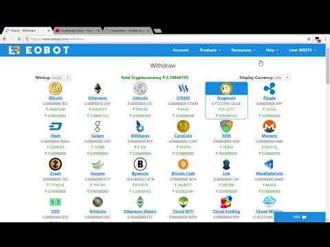 Eobot Withdraw Live Proof Free Bitcoin mining And Trusty
