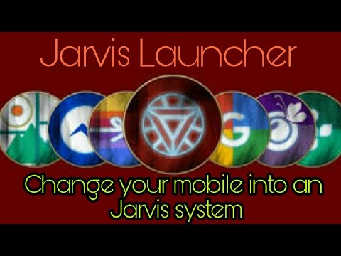 Change your smartphone into Jarvis systems (ARC LAUNCHER)- HACKERJAVIDMODS