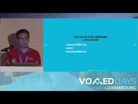 Composez vos interfaces utilisateurs avec React (Antoine Cellier)