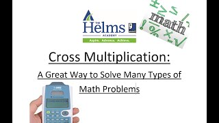 Math: Cross Multiplication (aka Cr๐ss Multiply and Divide) - GED, HiSET, and TASC Preparation