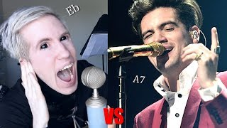 Comparing My Vocal Range to Brendon Urie (Panic! At The Disco)