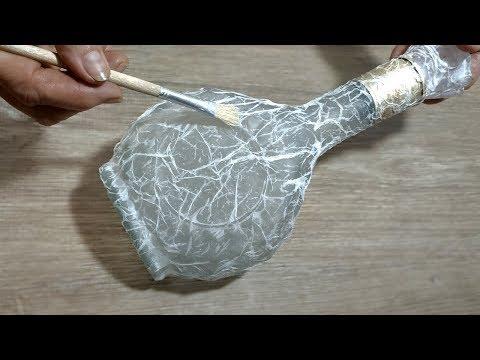 Как задекорировать бутылку своими руками