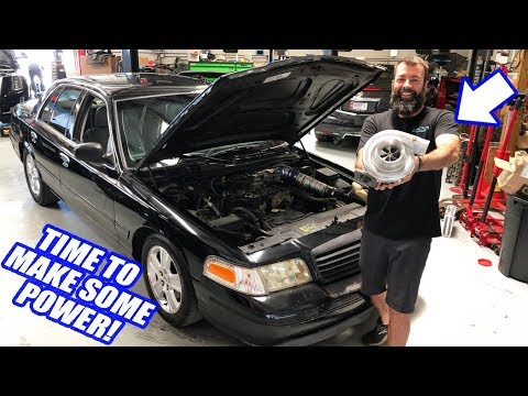 Making Our First NITROUS Hits With Liam At The Track! Plus The Crown Vic Gets A New TURBO!