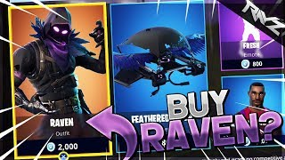 NEW LEGENDARY RAVEN SKIN! | BEFORE YOU BUY - REACTION TO RAVEN SKIN (Fortnite: Battle Royale)