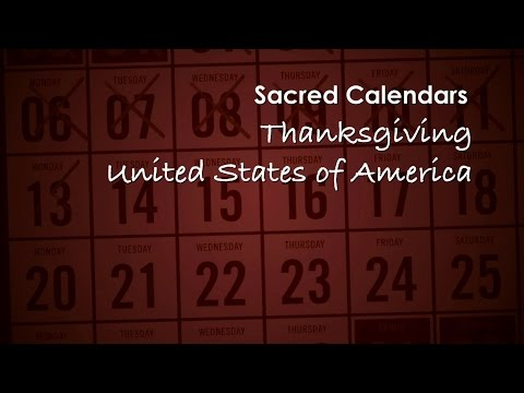 Sacred Calendars; Thanksgiving in the United States of America with Dr Simeon Zahl