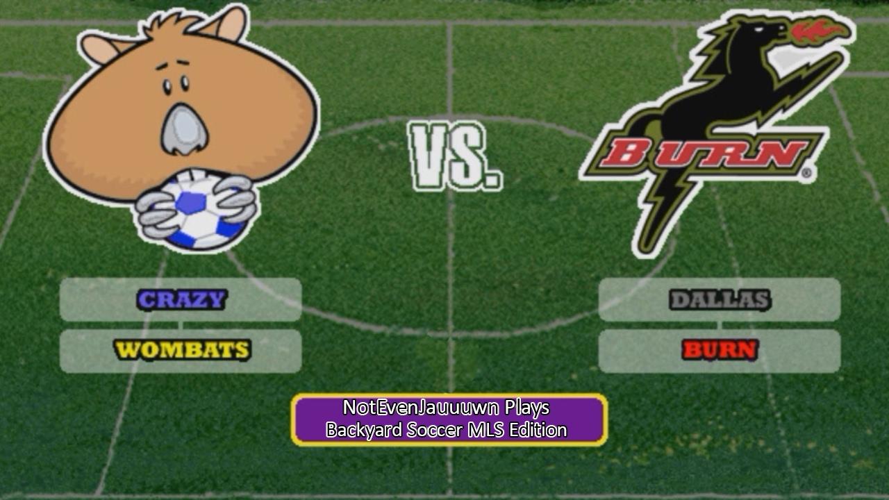 game 13 of backyard soccer mls edition dallas burn vs crazy