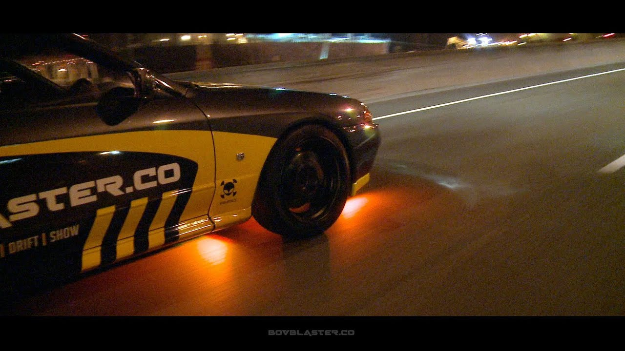 Nissan Skyline R32 GTR N1 Night Drag Motorway Drfit