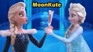If Elsa meets Elsa Olaf Frozen Adventure ?