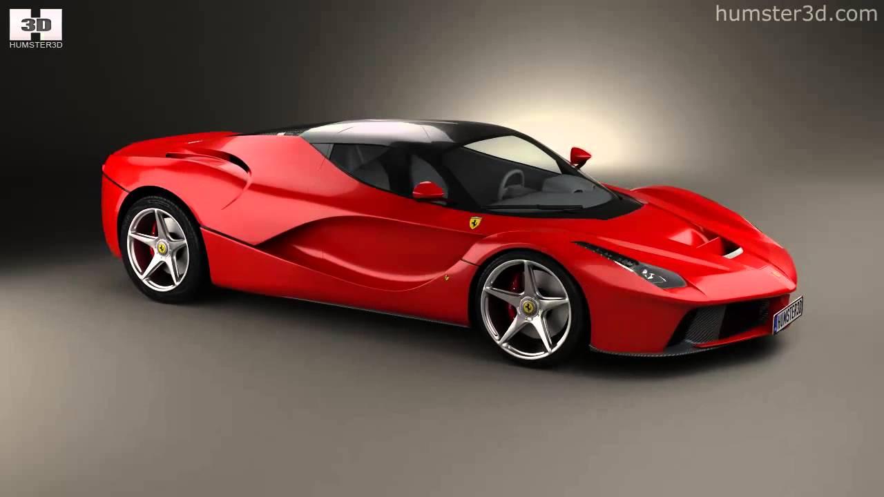 Hd Wallpaper Download Of Super Cars Ferrari F70 Laferrari 2014 By 3d Model Store Humster3d Com