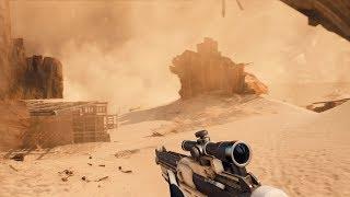 Jakku Sandstorm Weather Variant | Star Wars Battlefront II Mod