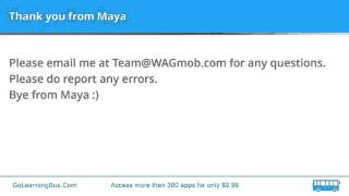 Learn English Vocabulary by Maya - Ignoble