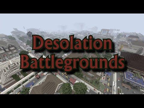 Desolation Battlegrounds - Episode 1 - Minecraft Roleplay