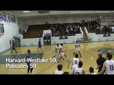 A Christian Laettner-like play for Harvard-Westlake