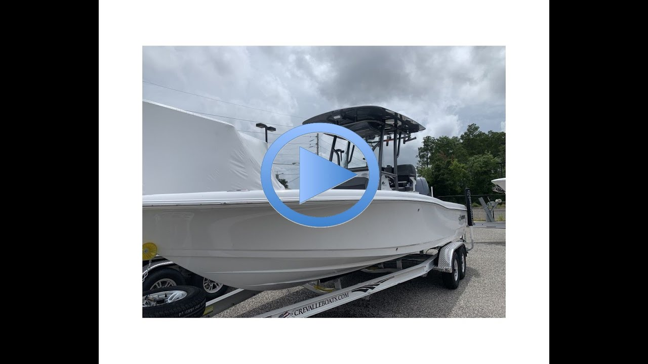 2019 Crevalle 26 Bay Center Console Bay Hybrid Fishing Boat For Sale Jacksonville Florida