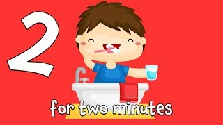 Tooth Brushing Song | 2 Minute Brush Teeth Song for Kids