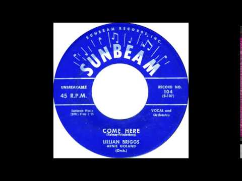 Come Here - Lillian Briggs '58 Sunbeam 104