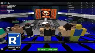 WWE 2K17 Gameplay (Roblox)