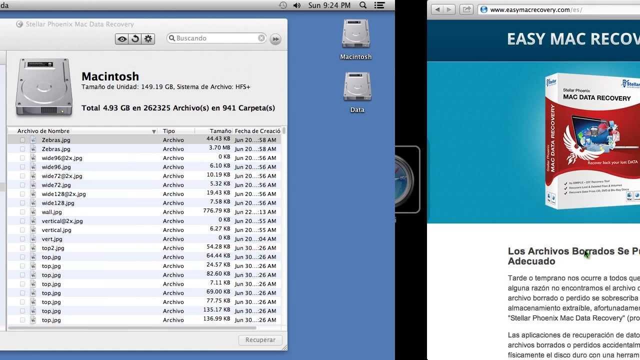 Recupere archivos borrados en Windows