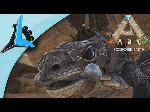 Ark Scorched Earth S2E14 Thorny Dragon Tame Gameplay HD