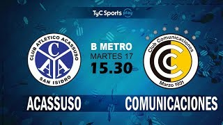 Acassuso vs CSD Comunicaciones full match