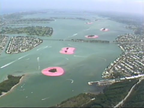 "A Nurturing Gaze: Christo & Jeanne-Claude: ""Surrounded Islands"""