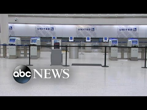 Airport security checkpoints close amid shutdown