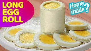 Long Egg Roll Homemade  | How to make long eggs | DIY Long Egg Roll
