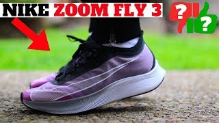 Nike ZOOM FLY 3 Review! WORTH BUYING FOR ATHLEISURE?