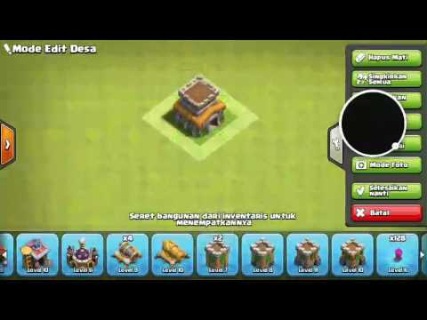 Cara Membuat Base Coc Th 8 1