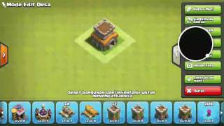 cara membuat base clash of clans th8