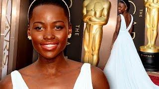 Lupita Nyong'o On the Red Carpet Oscars 2014