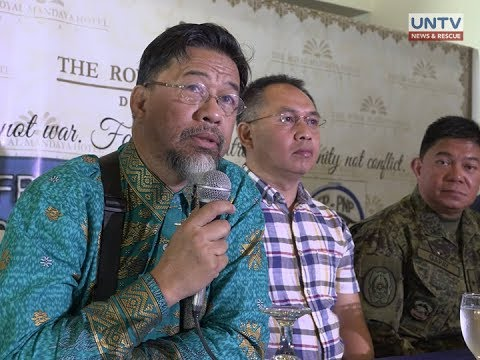 MNLF expresses intention to help the gov't in tracking Maute terrorist group