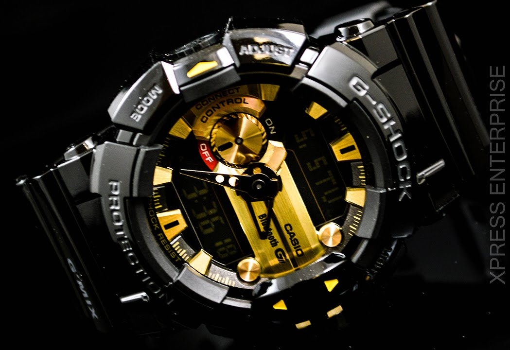 267268df4 Casio GSHOCK G MIX Bluetooth GBA400-1A9 REVIEW