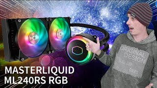 Esse Watercooler Vai Conquistar Você!! Cooler Master ML240RS RGB