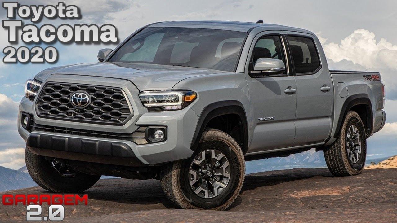 Nova Toyota Tacoma 2020 A Picape Que Queremos Garagem 2 0
