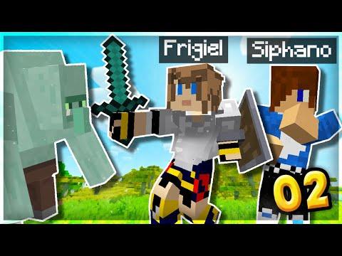On EXPLORE avec Siphano ! (et on galère) | Minecraft Moddé S6 #02